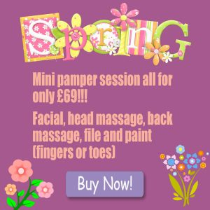 Spring Time Special Offers at Precious Moments Beauty Salon