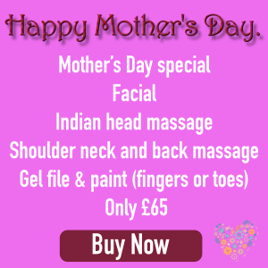 Mothers Day Gift Vouchers Banner